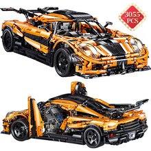 Especialista técnico kit criador especialista tijolos furiosos super modelo de carro moc conjunto blocos de construção do carro brinquedos namorado presente aniversário