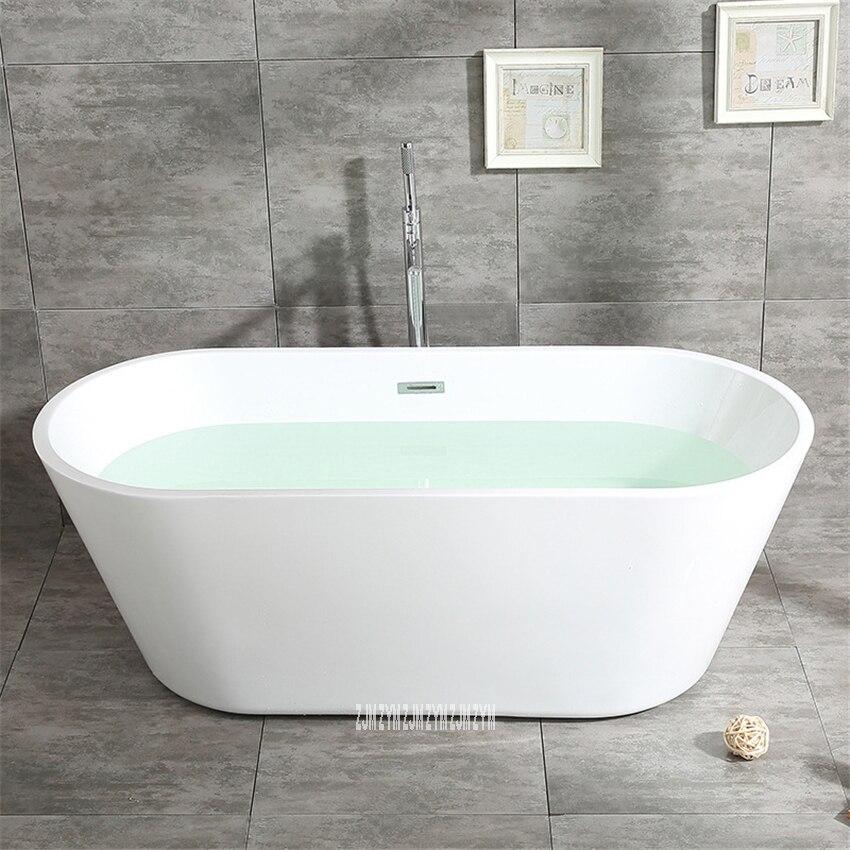 SY-2013 1.5m adulto acrílico casa banheira oval autônoma banheira moderna do banheiro s-armadilha com torneira de cobre ferragem parte-2