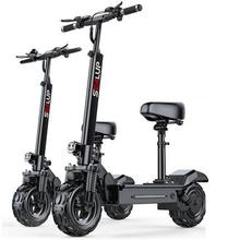 Scooters Electric-Bicycle Foldable Two-Wheels Adults 11inch 500W Off-Road Skateboard