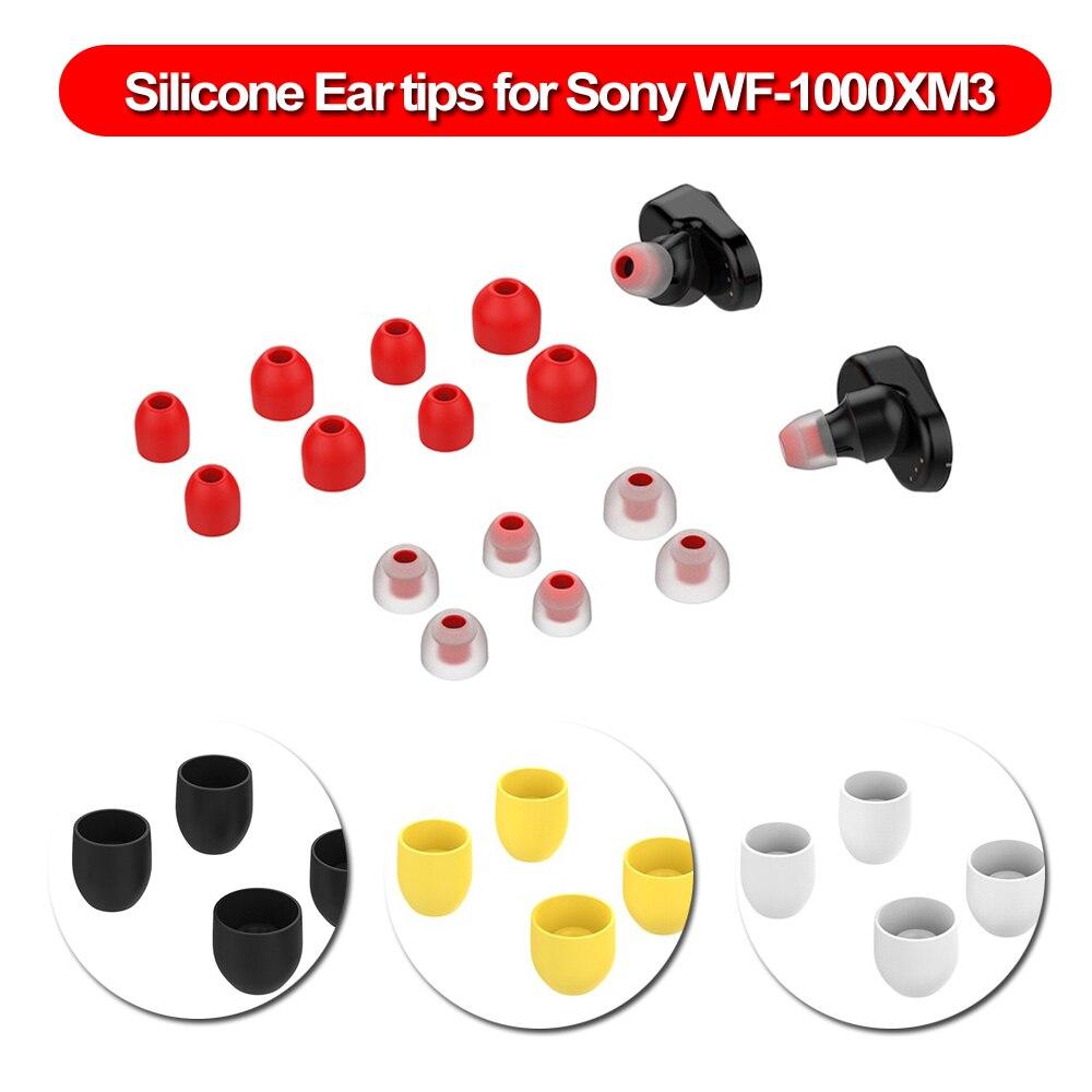 7 pares de protectores de silicona para auriculares, almohadillas para los oídos, funda para Sony WF-1000XM3, T200