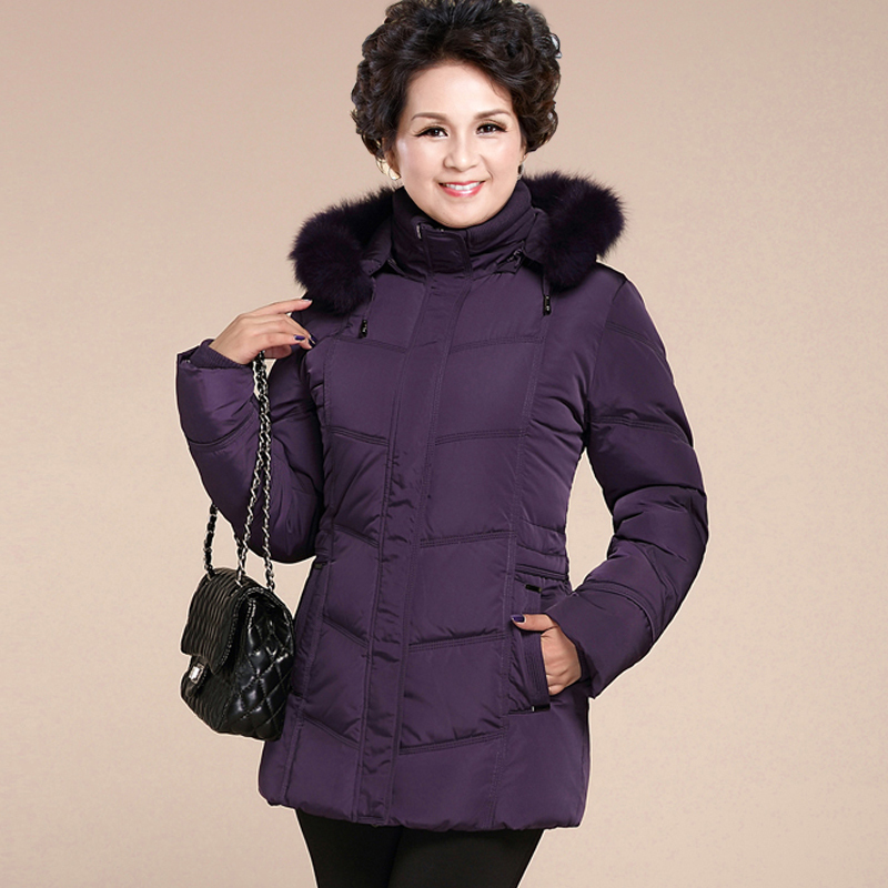 Women Clothes 2020 Winter Coat Women Down Jackets Female Real Fox Fur Collar Long Coat Plus Size 5xl 6xl Parka MY1489
