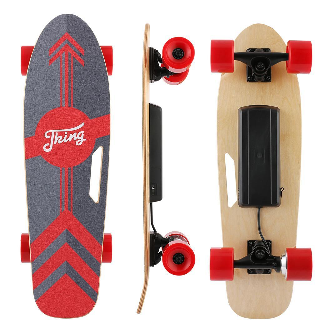 PU Wheel 3-Speed Electric Skateboard Lithium Battery Powered with Remote Controller 29.4V 2000mah Lithium Battery Maple Deck 2