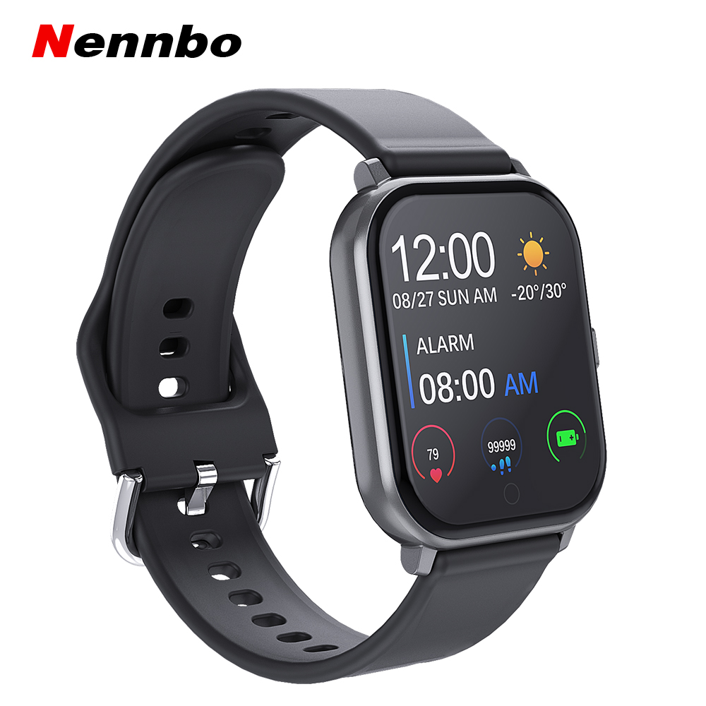 T55 Smart Watch Heart Rate Blood Pressure Fitness Wristband Sports Waterproof Pedometer Smartwatch For Apple IPhone Xiaomi image