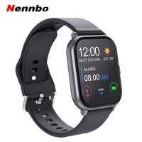T55 relógio inteligente freqüência cardíaca pressão arterial pulseira de fitness esportes pedômetro à prova dwaterproof água smartwatch para apple iphone xiaomi