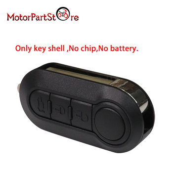 3 Buttons Flip Remote Fob Key Case For Peugeot Boxer Expert Citroen Relay Jumper image