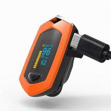 LED Finger Pulse Oximeter Oxygen saturation monitor Finger clamp pulse oximeter pulse oximeter cms50dl black ce fda