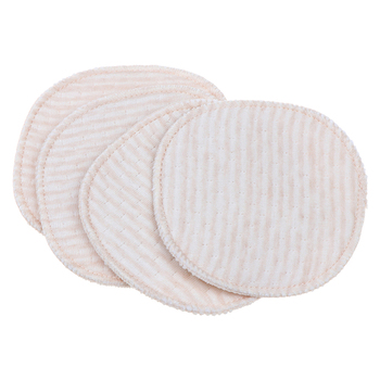 4PCS Reusable Washable Baby Feeding Breast Maternity Nursing Pad Leakproof Anti Overflow Pads For Pregnant Women Bra Pad Mom