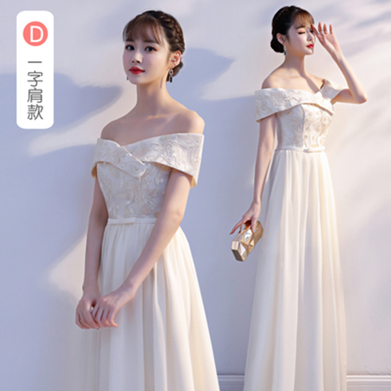 Burgundy   Bridesmaid     Dresses   Elegant Plus Size Chiffon Embroidery Long   Dress   for Wedding Party for Woman Sexy Prom   Dress   Sister