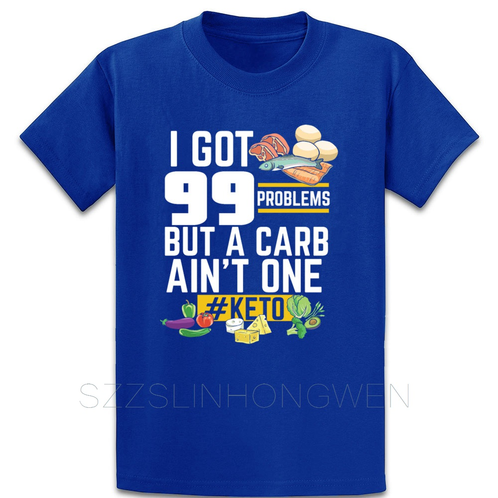Keto Funny Graphic For Low Carb High Fat T Shirt Funny Spring Autumn Pattern O-Neck Anti-Wrinkle Cotton Custom Letters Shirt