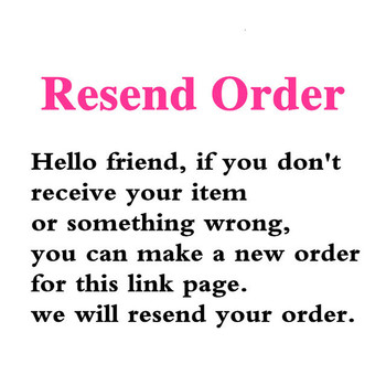 Please make an new order of this link page. this is professional resend link page image
