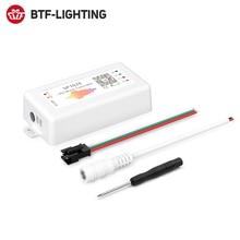 SP107E LED ControllerบลูทูธPixel IC SPIเพลงโดยAPPโทรศัพท์สำหรับLPD8806 WS2812 SK6812 SK9822 RGBW APA102 Strip DC5 24V
