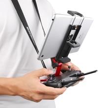 원격 컨트롤러 전화 연장 홀더 DJI CrystalSky DJI Mavic Mini 2 Pro Zoom Spark 용 스트레치 블 브래킷 마운트 클립 스탠드