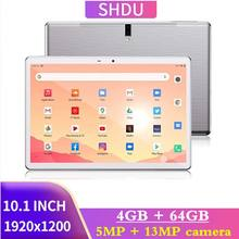 2021 novo tablet pc 10.1 polegada android 10.0 tablet 64gb rom octa núcleo google play 3g 4g lte chamada de telefone gps wifi bluetooth 10 polegada