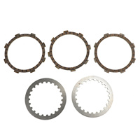 Artudatech Clutch Kit Steel & Friction Plates fit for Yamaha RD 60 TY 50 YSR 80