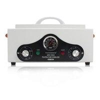 220 v-240 v 고온 전기 매니큐어 네일 도구 살균기 상자 소독 캐비닛 휴대용 장비 살균 도구