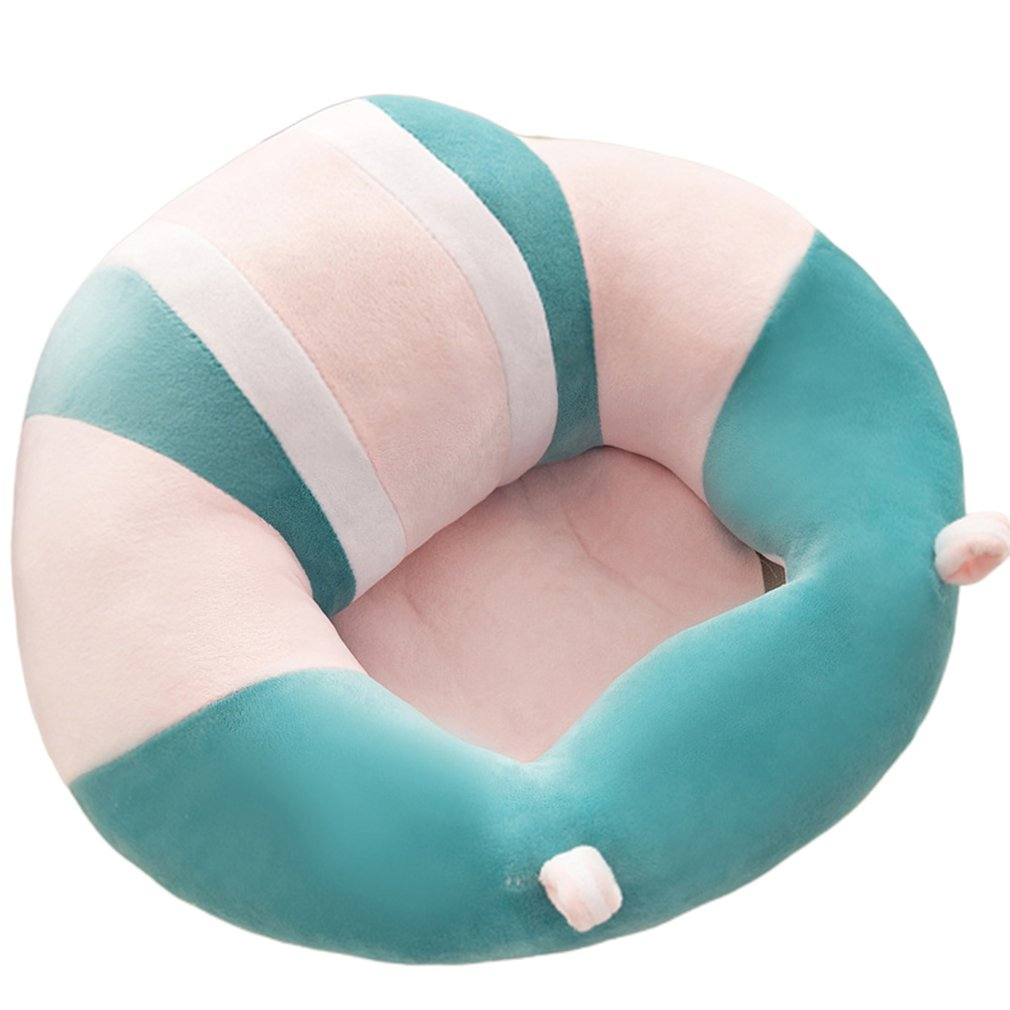 Soft Cute Baby Support Seat Plush Sofa Colorful Soft Baby Infant Learning To Sit Chair Keep Sitting Posture Chair