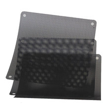 10Pcs Computer Mesh PVC Dustproof Fan Cooler Mesh Black Speaker Grilles Dust Filter Mesh Dustproof Cover Chassis Dust Covers(Hong Kong,China)