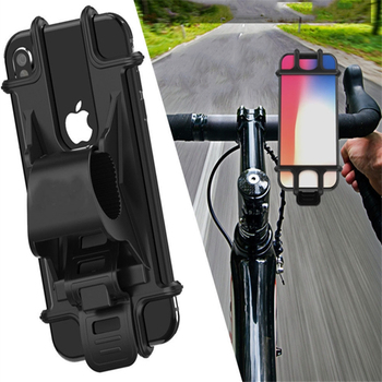 Universal Mini Bicycle Non-slip 360 Degree Rotate Adjustable Phone GPS Holder Accessories for IPhone 11 pro max 6 7 8 plus X Xr image