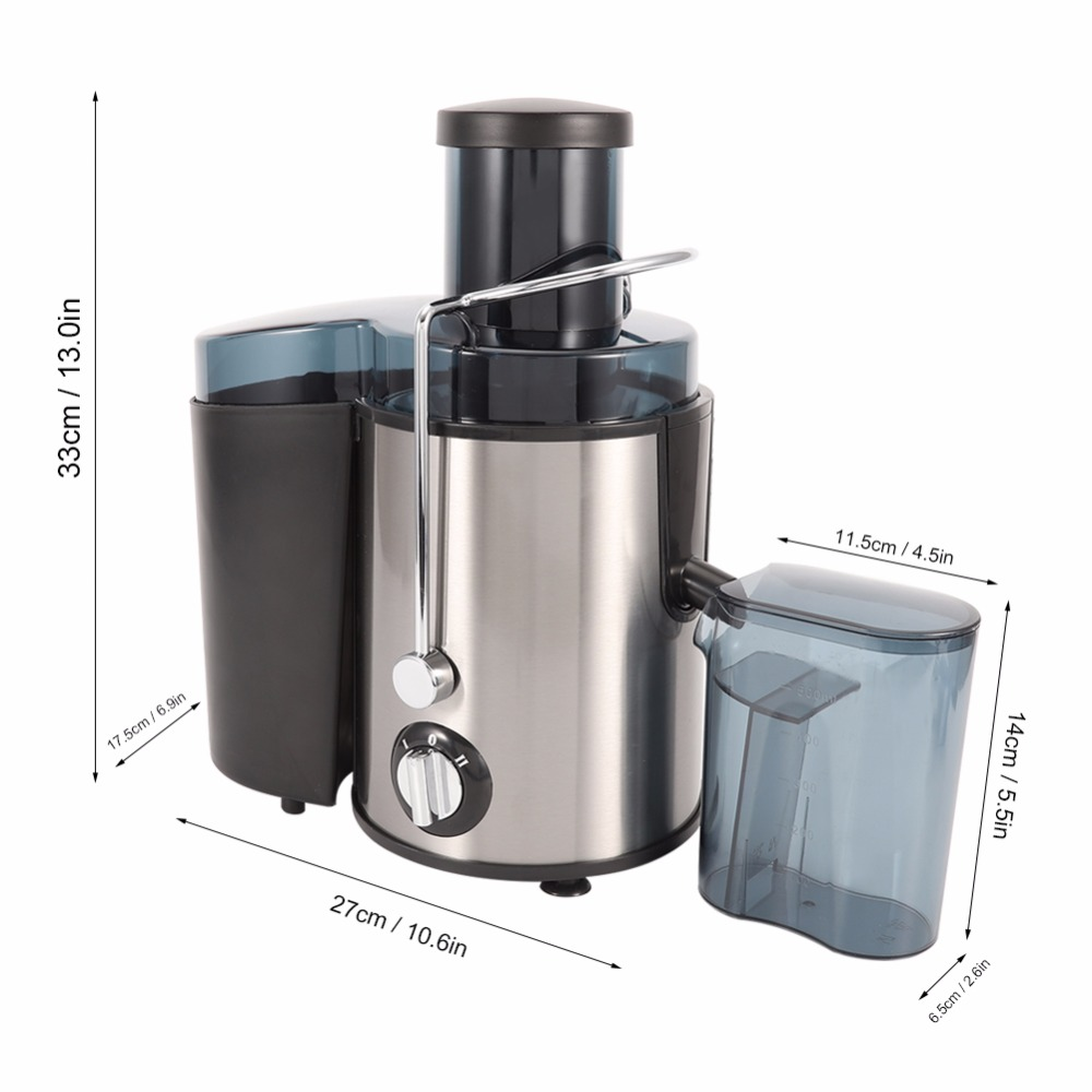 Juicing Machine Wide Mouth Juice Extractor - Best Masticating Juice Machine - Juice Extractor Machine