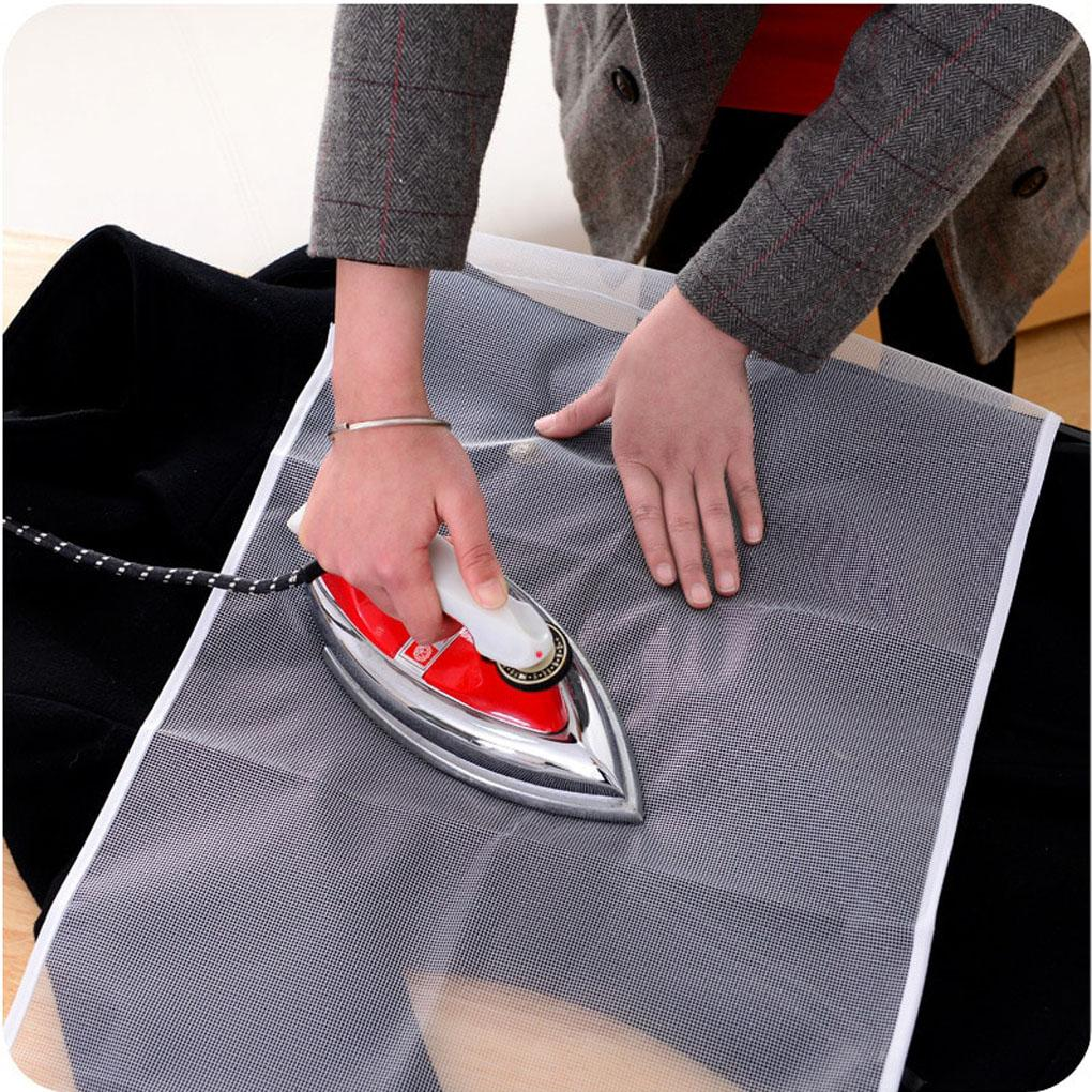 40x90cm High Temperature Ironing Cloth Ironing Pad Cover Household Protective Insulation Against Pressing Pad Boards Mesh Cloth