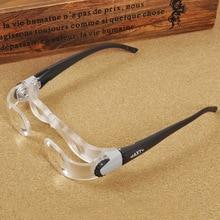 Складные акриловые очки, увеличительное стекло, диоптрий + 3 Оптические Призмы, модные переносные очки