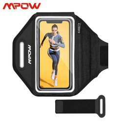 Mpow PA195 Sports Armband Suit 6.2-6.8 inch Phone Adjustable Running Arm band Belt For iPhone 11 Samsung S10 Xiaomi 9 Huawei P30