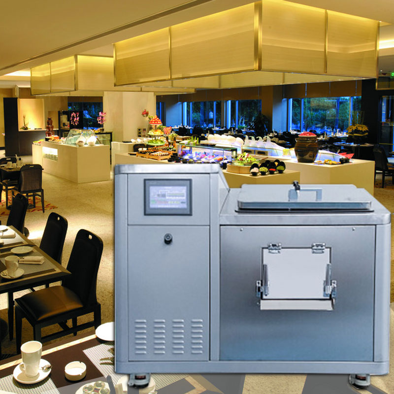 Hotel restaurant kantine vielzahl von lebensmittel abfall küche abfall maschine kommerziellen umwelt bio küche müll prozessor
