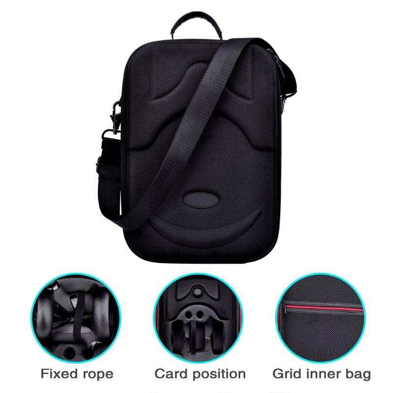 Bolsa de Proteção Caixa de Armazenamento Estojo de Transporte para Oculus Dura Viagem Quest Kit Eva vr