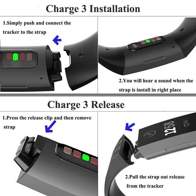Купить ремешок силиконовый для fitbit charge 3 4 сменный спортивный картинки цена