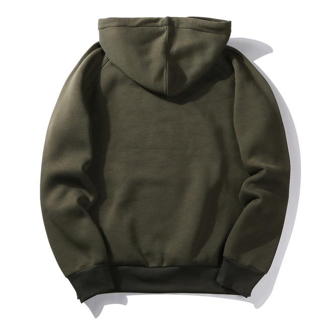Fashion Brand Men Hoodies Fleece 2020 Male Casual One Piece Hoodie Sweatshirts Men Outwear Sudadera Hombre Hip Hop Streetwear