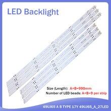 Новый комплект 6 шт светодиодная подсветка полосы для LG 49UJ701V 49UJ65 Б тип 17й 49UJ65_A_27LED 49UJ65_B_27LED EAV632632404