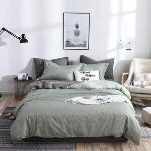Bedding Set Luxury Green Duvet