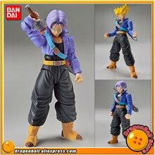 "Figurine de dessin animé ""Dragon Ball Z"" BANDAI Original, montage Standard, coffre Super Saiyan"