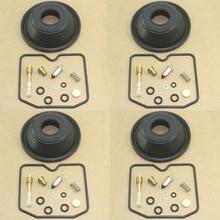 4SET Motorcycle carburetor repair kit for GSF600S BANDIT 1996-2003 GSF600 GSF 600 S Plunger vacuum diaphragm