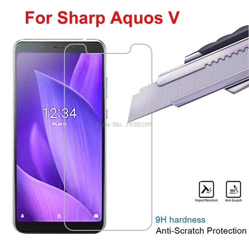2PCS For Sharp Aquos V Tempered Glass Screen Protector For Sharp Aquos V SH-C02 5.9