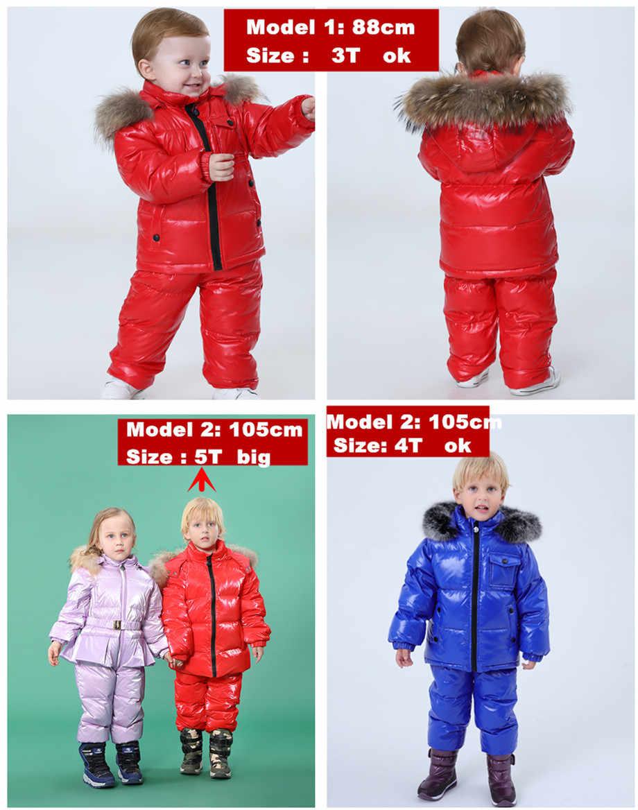 Orangemom 러시아 겨울 어린이 의류 세트, 새해 해 이브에 파카 자켓 코트 스노우웨어