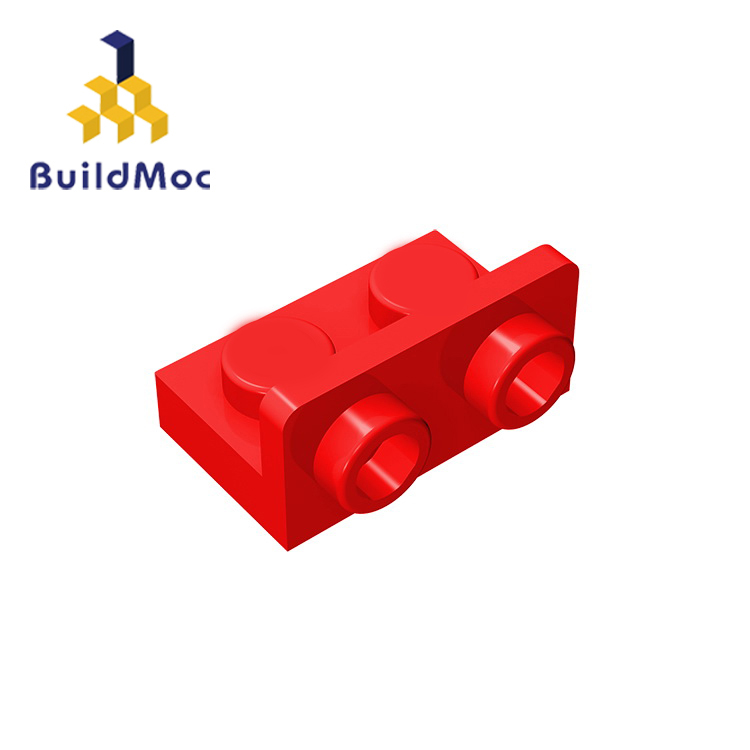 BuildMOC Compatible Assembles Particles 99780 1x2-1x2 For Building Blocks Parts DIY LOGO Educational Creative Gift Toys