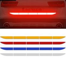 2021 samochodów odblaskowa naklejka ostrzegają bagażnik ciała dla volkswagena vw 07 EOS 2.0 TF Phaeton 6.0 EOS 2.0 FS Touareg Touareg Touran
