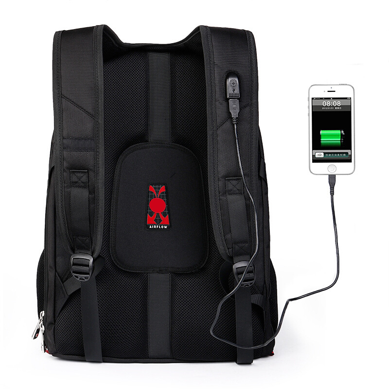 Image 4 - Brand Swiss Laptop 15.6 Backpack External USB Charge Swiss  Computer Backpacks Anti theft Backpack Waterproof Bags for Men  WomenBackpacks