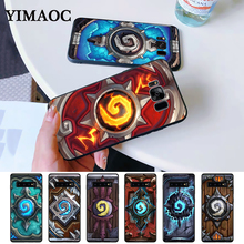Hearthstone classic Silicone Case for Samsung S6 Edge S7 S8 Plus S9 S10 S10e Note 8 9 10 M10 M20 M30