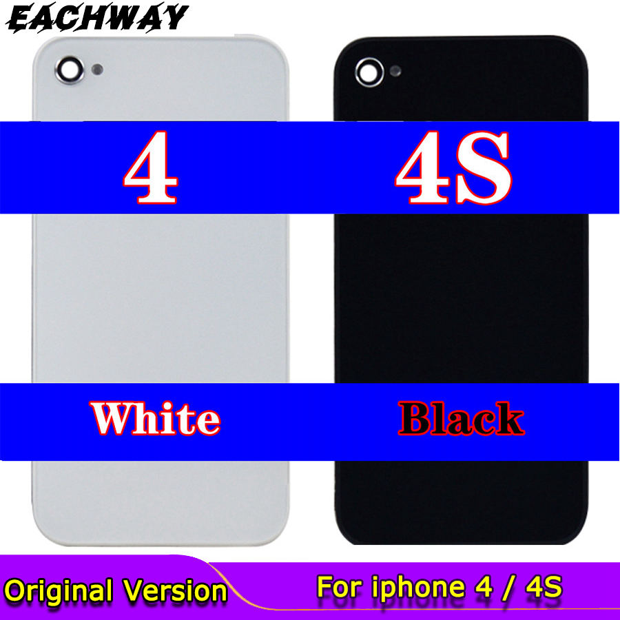 iPhone 4 S 4G Back Cover Battery Door Glass Housing