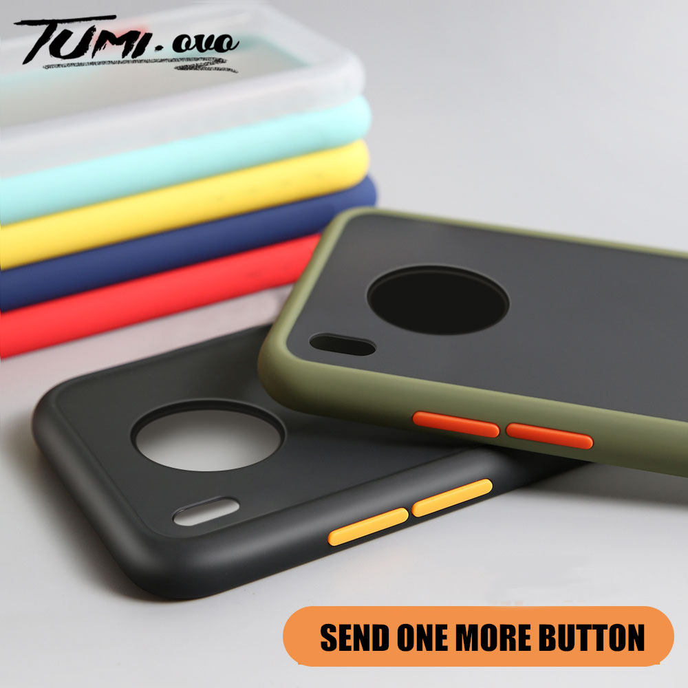 Phone Case For Huawei P20 P30 Pro Mate 20 30 Lite Nova 3I 6 SE Luxury Matte Hard PC Cases For Y5 Y6 Y7 Y9 Prime 2019 Cover
