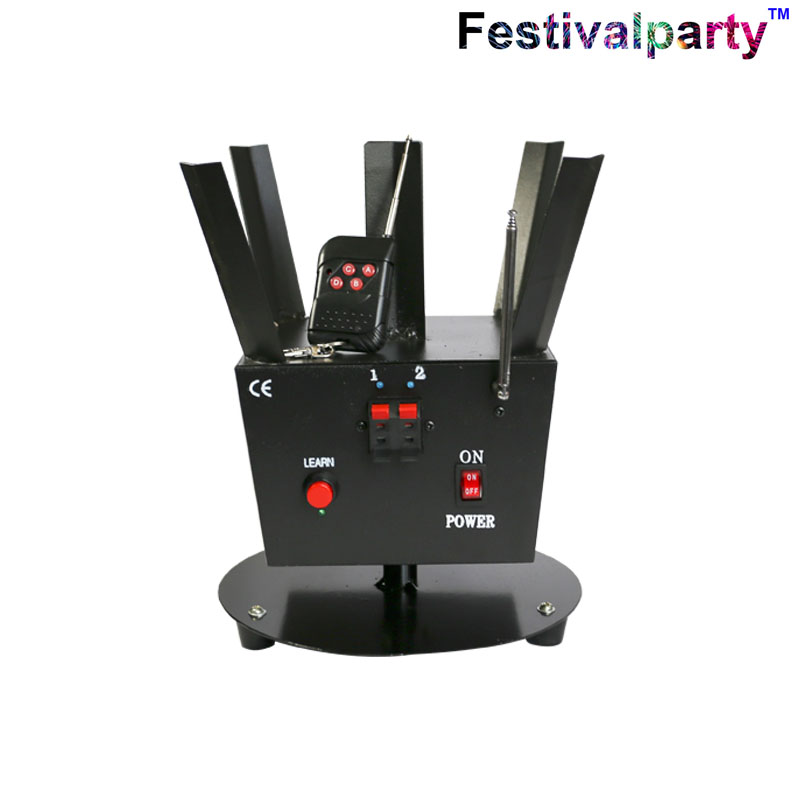 wedding cold fire pyro fountain rotating stage lighting effect ignition system machine remote control stage effect show new may 2021
