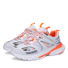Balencia Spring Breathable Men Running Shoes Outdoor Sport Lightweight Sneakers Male Krasovki SUROM New Fashion