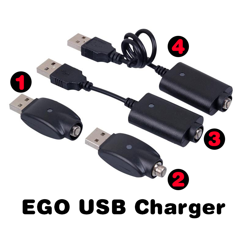 Ego USB Charger Ego-CE4 Electronic Cigarette Chargers For 510 Ego T EVOD Twist Vision Spinner 1 2 CE3 Mini Battery E Cigarette