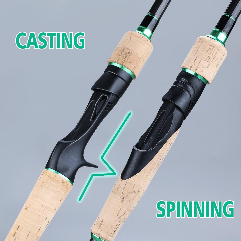 de pesca de fibra de carbono vara de pesca equipamento