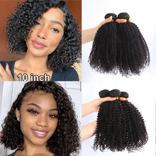 H&M Afro Kinky Curly Hair Weave 1-2-3-4 Bundles Deal Remy Hair 100% Human Hair Extension 8-20 Inch Natural Color Jarin Hair