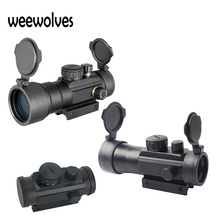 Sight-Scope Rail Tactical-Optics WEEWOLVES Green Red-Dot 1X40 3X42 3X44 Fit-For 11/20mm