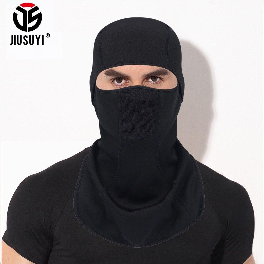 Black Polar Fleece Balaclava Full Face Guard Winter Warmer Military Cap Bicycle Helmet Liner Head Shield Ski Snowboard Masks