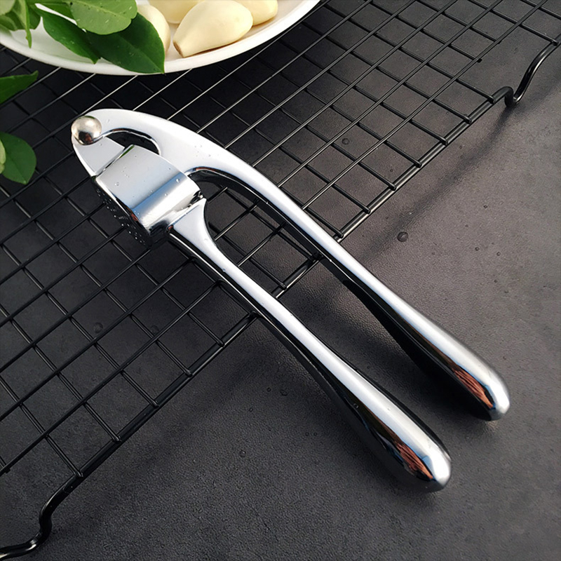 Premium Garlic Press, Heavy Soft-Handled & Sturdy Design Extracts More Garlic Paste, Professional Ginger Mincer, Kitchen Tools
